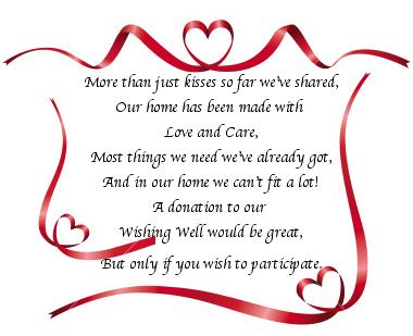 Money Instead Of Wedding Gift Wording : how to ask for money instead of gifts in a wedding invitationGoogle ...