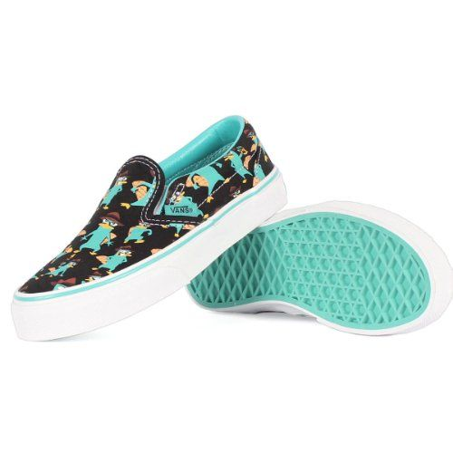 Disgusto Subjetivo Sindicato  Perry the Platypus at Amazon- awesome shoes! | Slip on shoes, Vans, Slip on