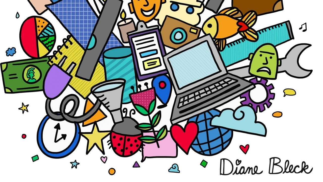 The Doodle Institute is a community of Educators, Trainers, Faciltators and Parents who are sharing, discovering and understanding the world around them through the power of doodling.