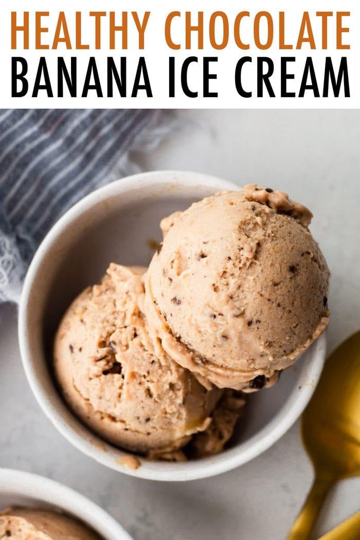 Healthy Chocolate Banana Ice Cream Eating Bird Food Recipe In 2020 Healthy Chocolate Healthy Chocolate Banana Banana Ice Cream