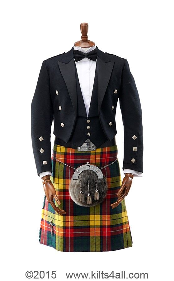 Gents Prince Charlie Jacket Button Small in Chrome