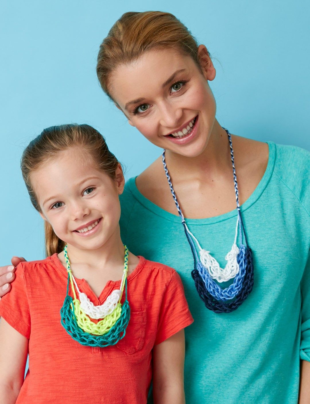 Yarnspirations.com - Caron Finger Knitting Necklace - Patterns ...