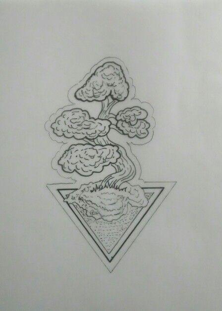 Bonsai Tattoo Meaning: Bonsai Tree Tattoo Design By Mauricio Hernández