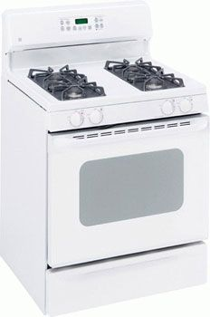 Ge Jgbp35gxm Ww 220 240 Volt 50 Hertz White Color Gas Range Microwave Oven Microwave Oven Oven Racks Self Cleaning Ovens