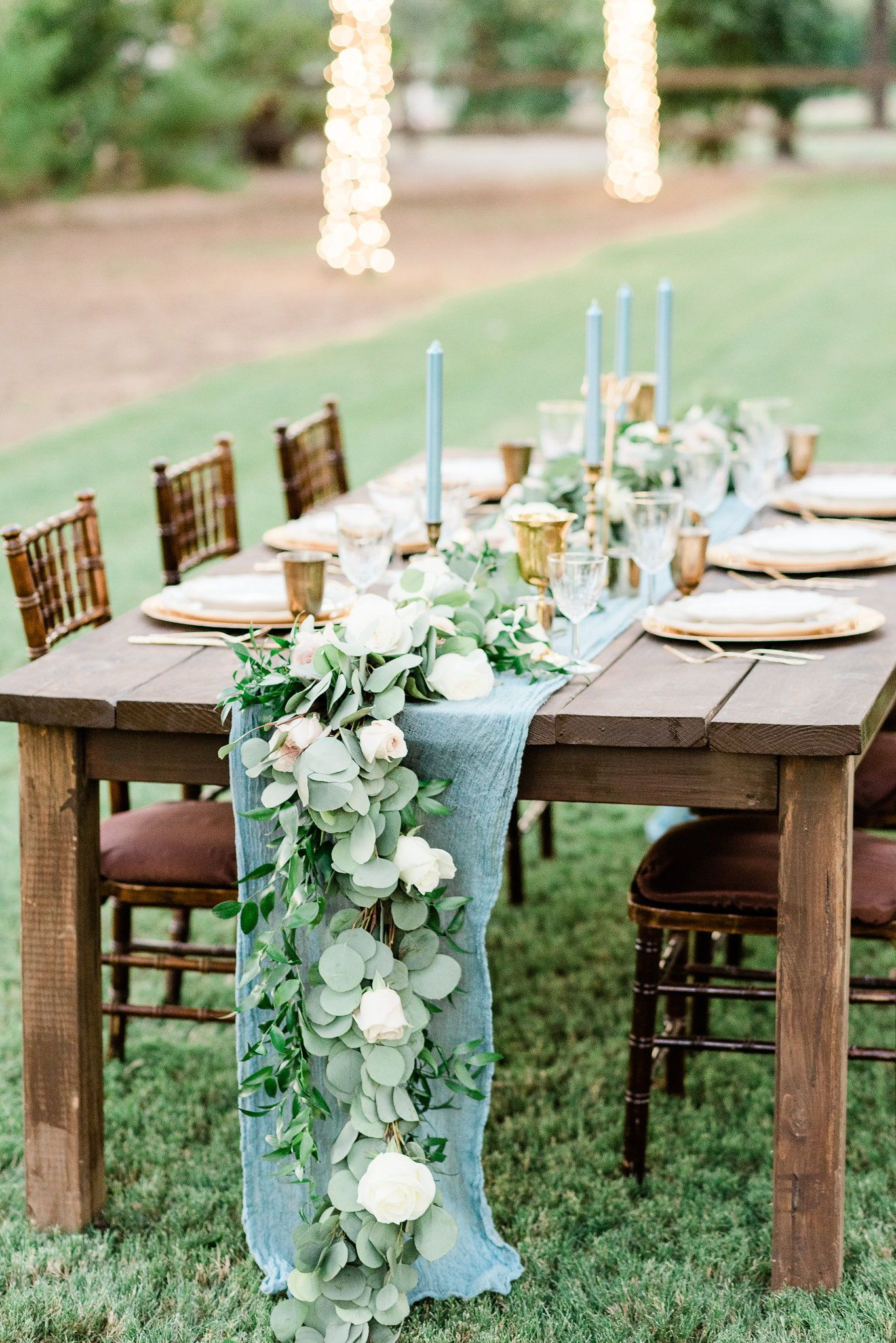 French Themed Table Setting For A Wedding Features A Floral