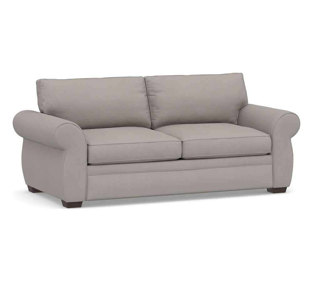 - Pearce Upholstered Deluxe Sleeper Sofa, Polyester Wrapped Cushions