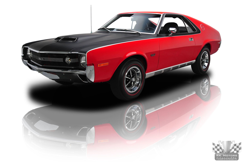 1970 AMC AMX 390 V8 4 Speed