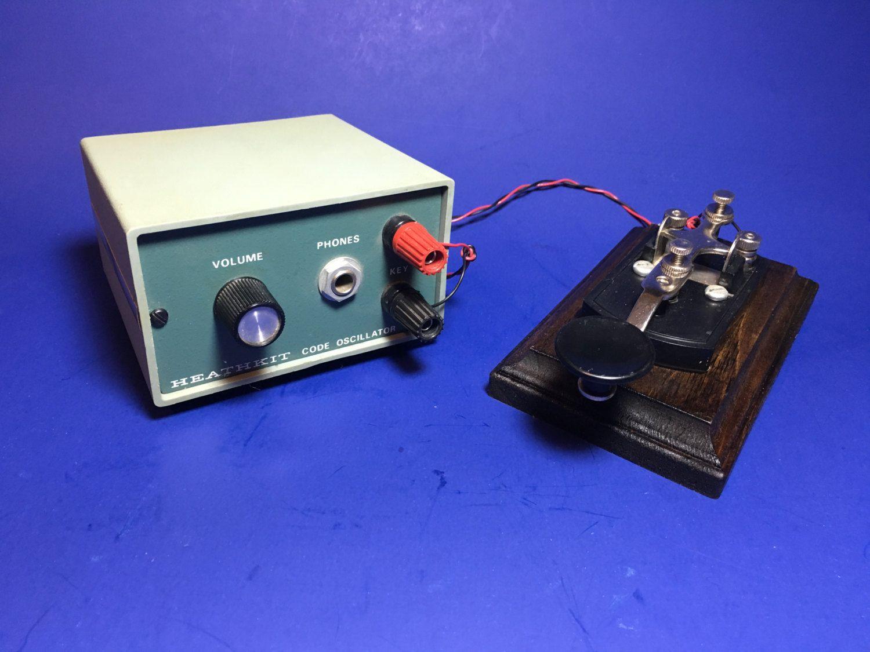 HEATHKIT Model HD-1416 Morse Code Practice Oscillator with