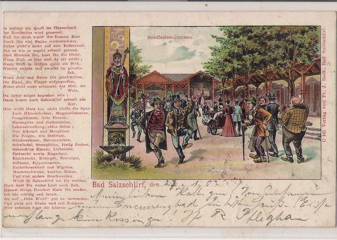 Bonifaciusbrunnen 1903