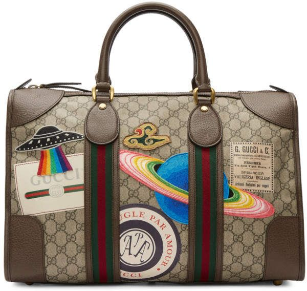 c5b24562b6f Gucci Brown GG Supreme Courrier Tote Buy Gucci