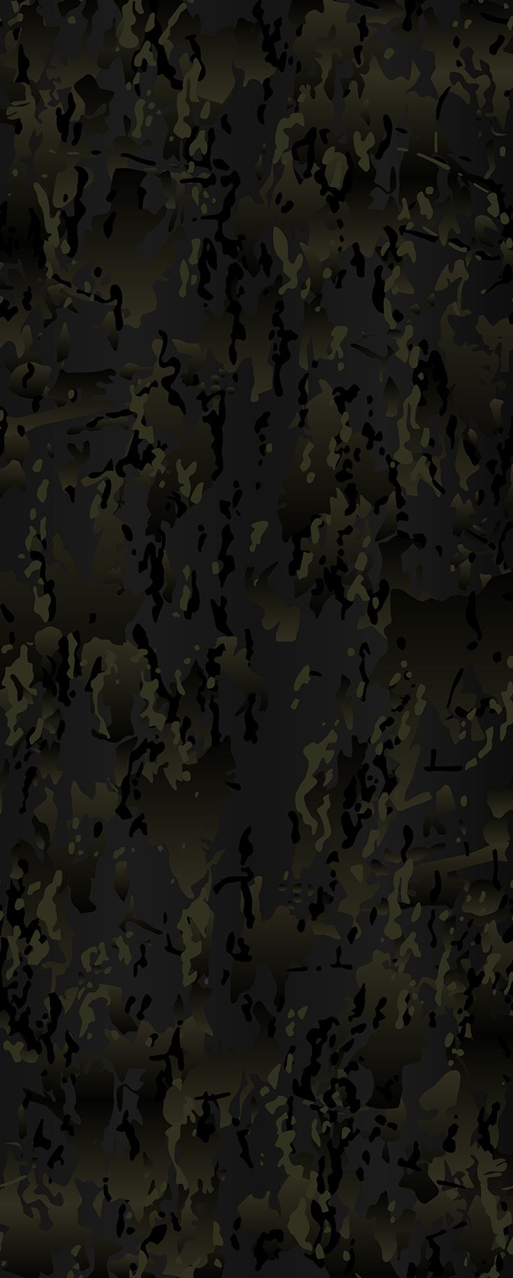 Original Multicam Black Vector Camouflage Pattern For Printing