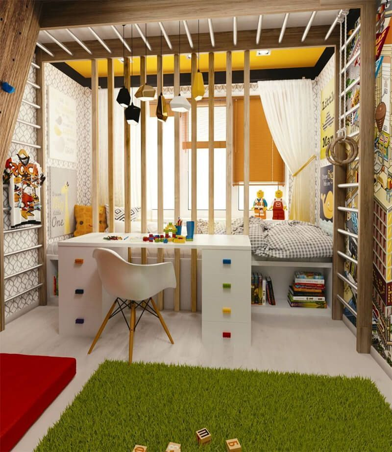 Small Kids Room Small Children Bedroom Ideas Small Kids Room Kids Room Interior Design Kids Room Design