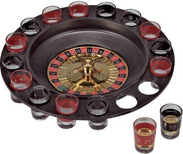 Roulette Drinking Game Spin n Shot @ £7.5