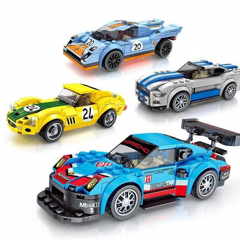 New Technic City Super Racers Speed Sport Car Supercar Racing car