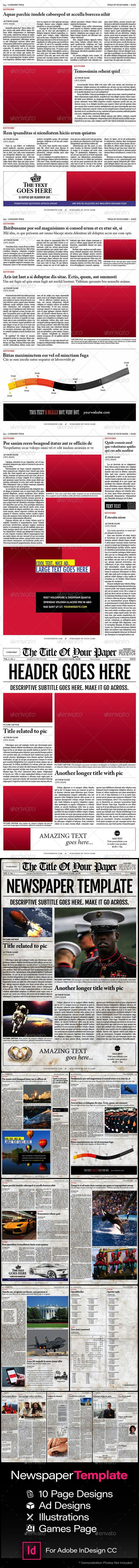 Old Style Newspaper Template E Newsletter Templates Pinterest