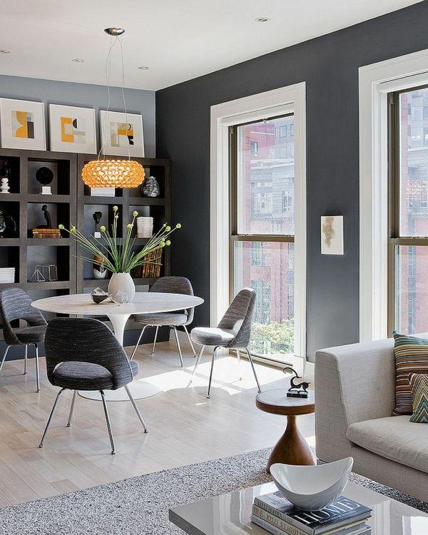 24 Wandfarbe Esszimmer Grau