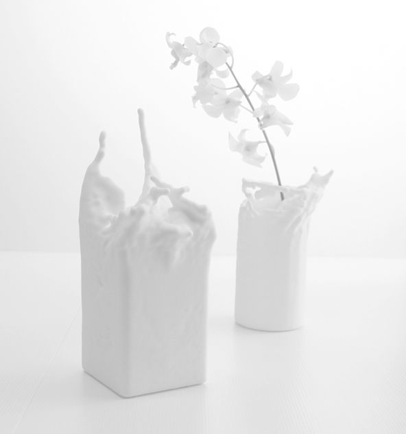 Fluid Vases by Kwok Pin