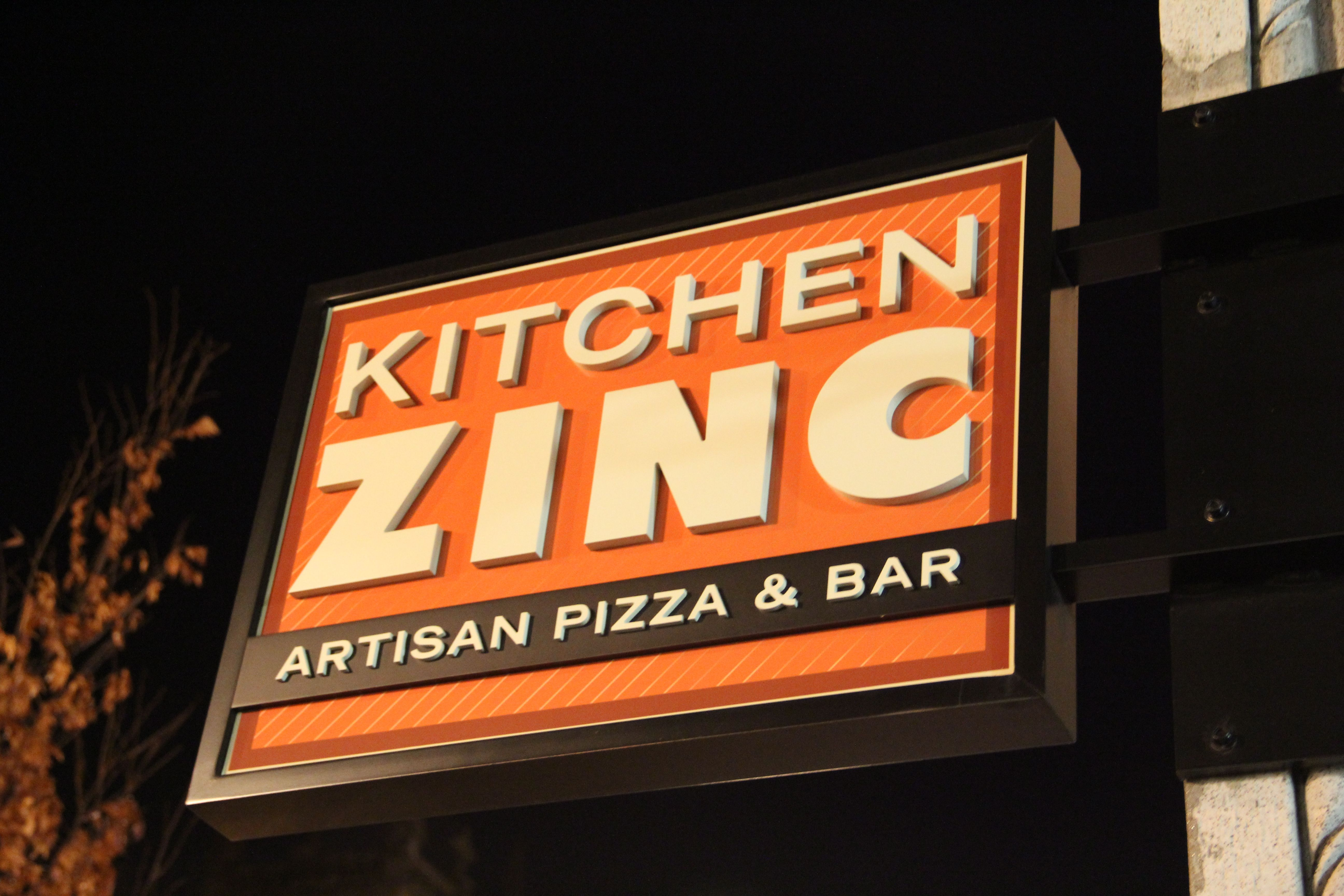 Kitchen #Zinc Artisan #Pizza | Artisan pizza, Gluten free ...