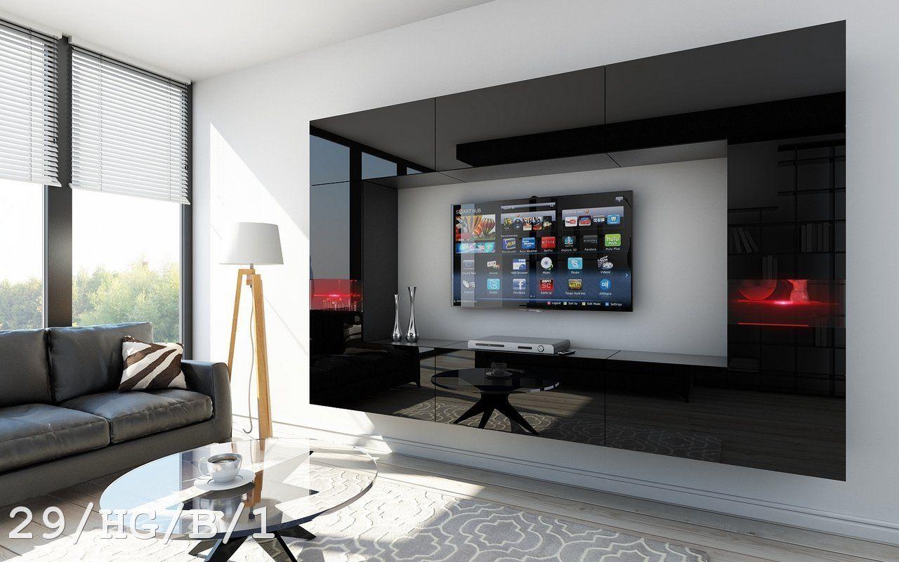 FUTURE 29 Moderne #Wohnwand, Exklusive #Mediamöbel, #TV Schrank, #