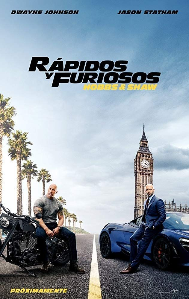 Fast & Furious Presents: Hobbs & Shaw 2019 PELICULA COMPLETA EN ...