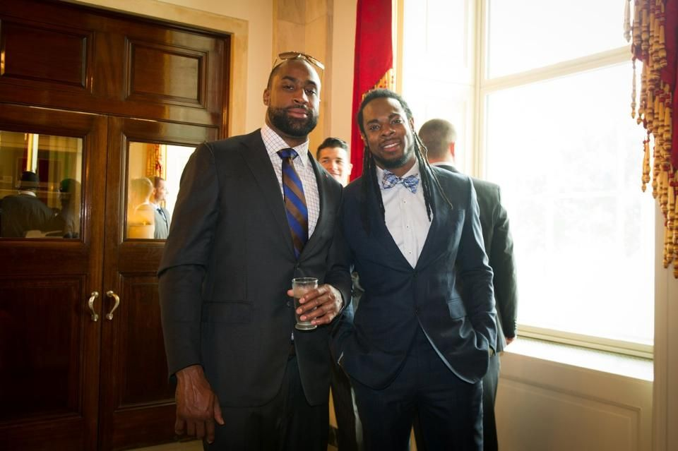 Brandon Browner & Richard Sherman Reunited