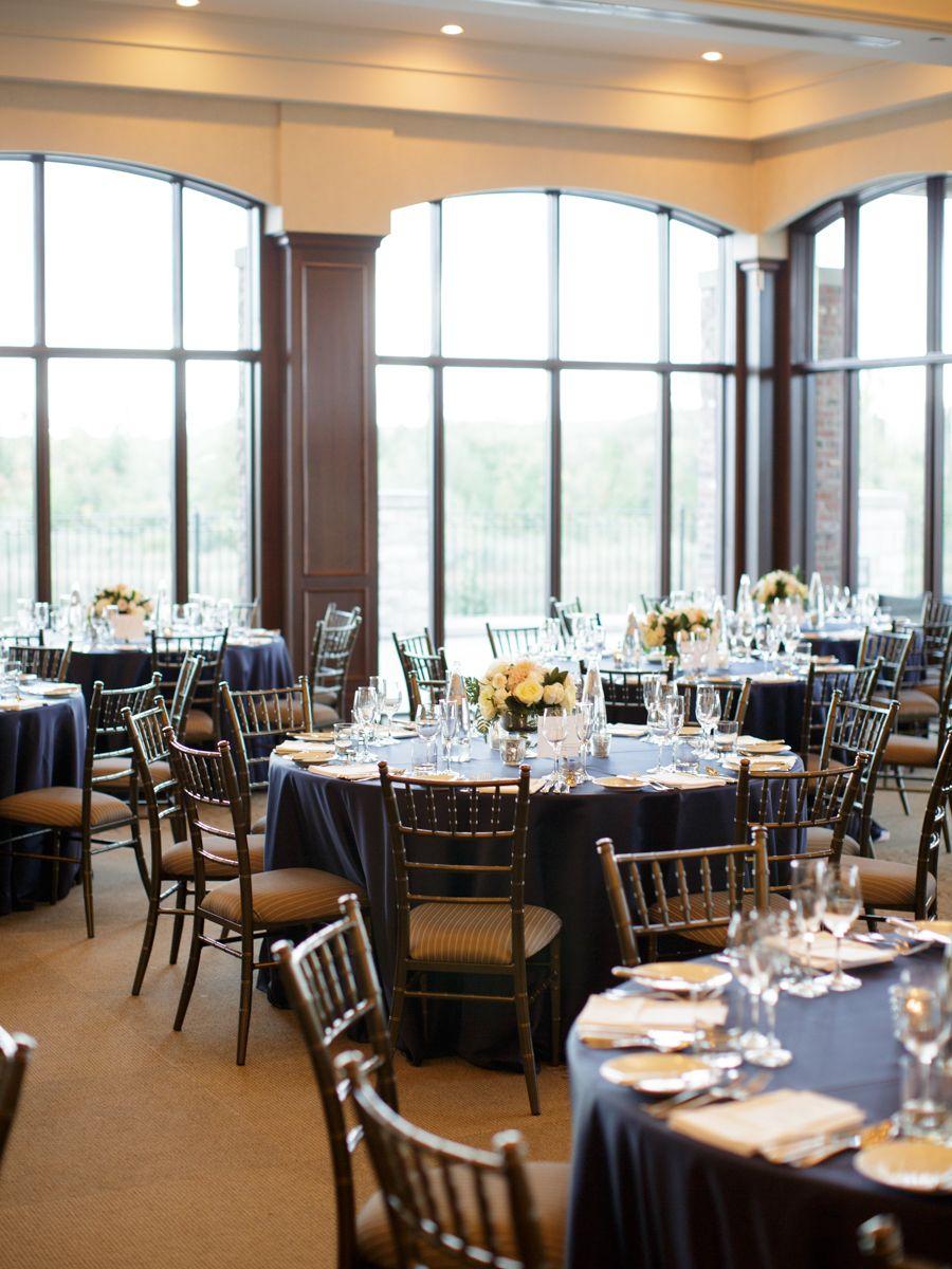 Navy Ontario Golf Club Wedding