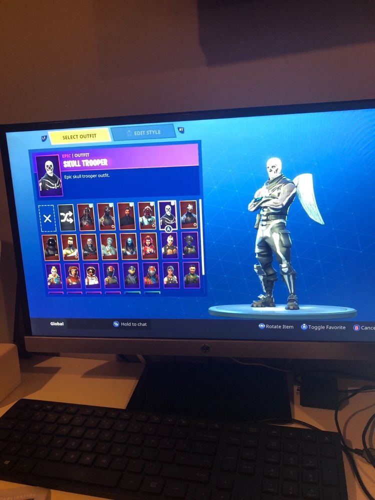 fortnite account skull trooper xbox Epic games fortnite