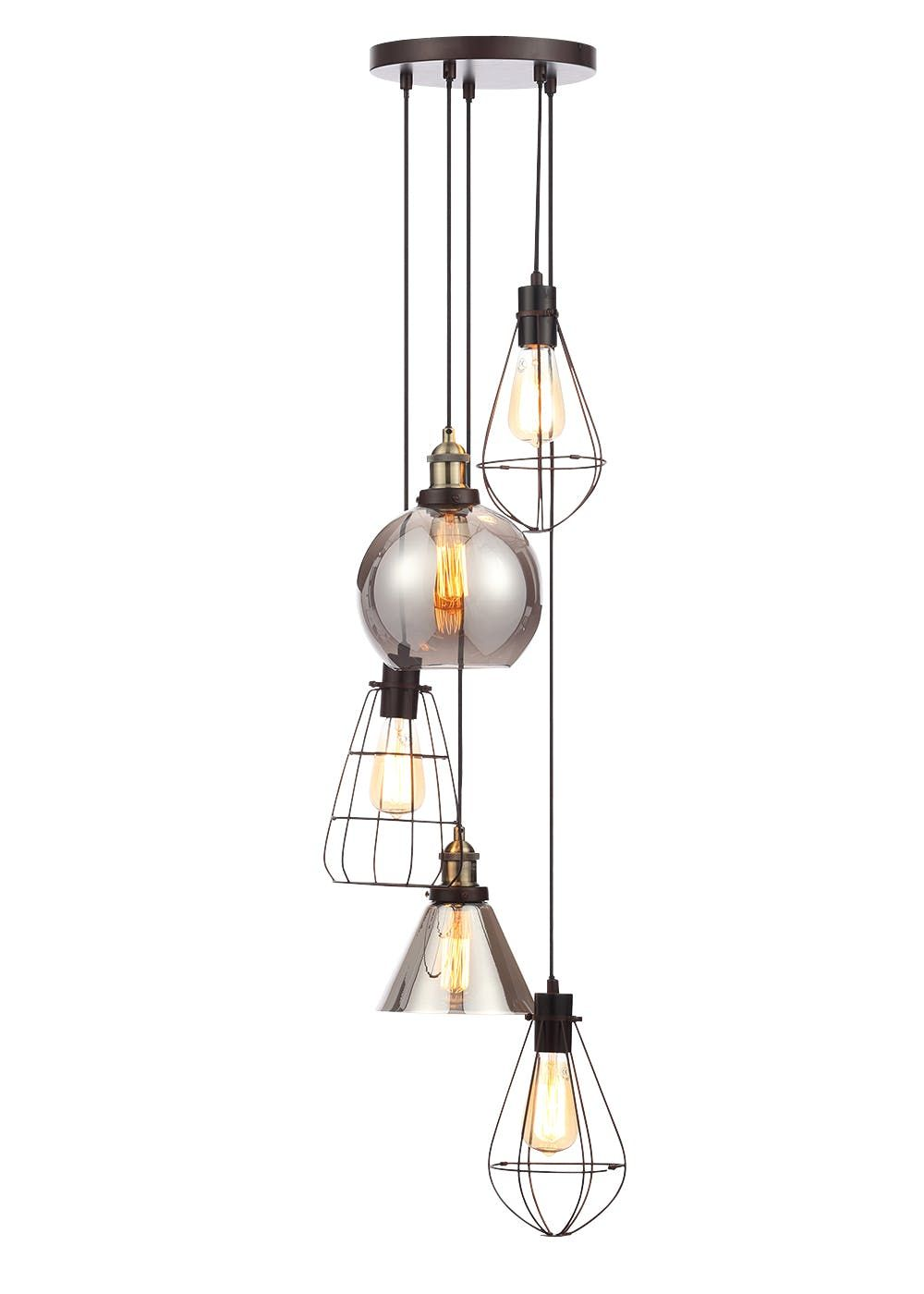 industrial cluster pendant lighting # 3