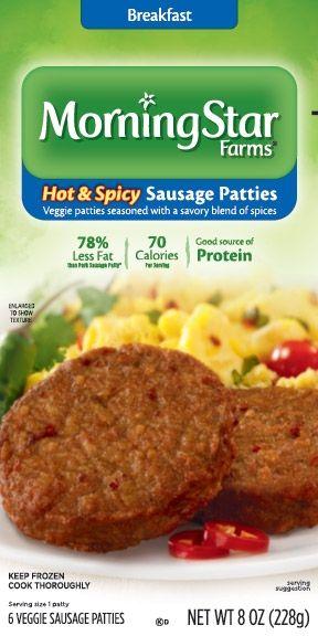 MorningStar Farms® Hot & Spicy Sausage Patties - Spicy ...