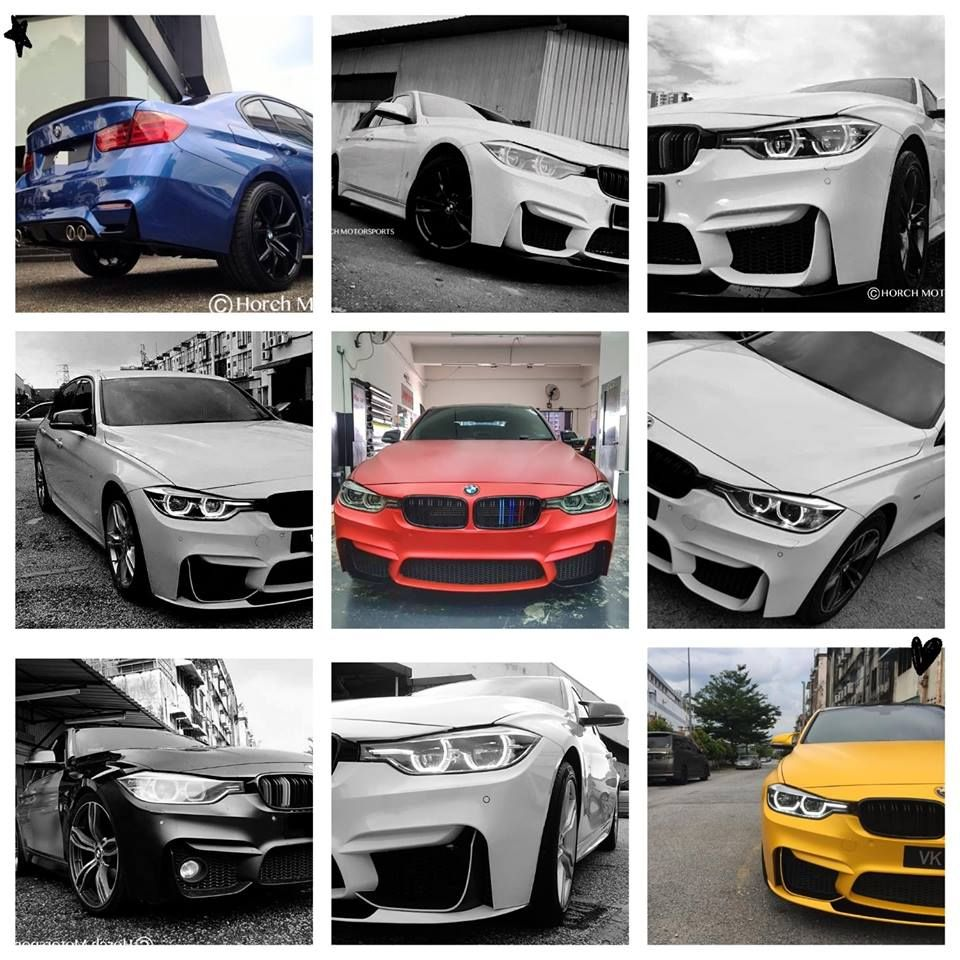 Bmw F30 Converted Into M3 F80 Alike Body Kit Horch Motorsports Motorsport Bmw Body Kit