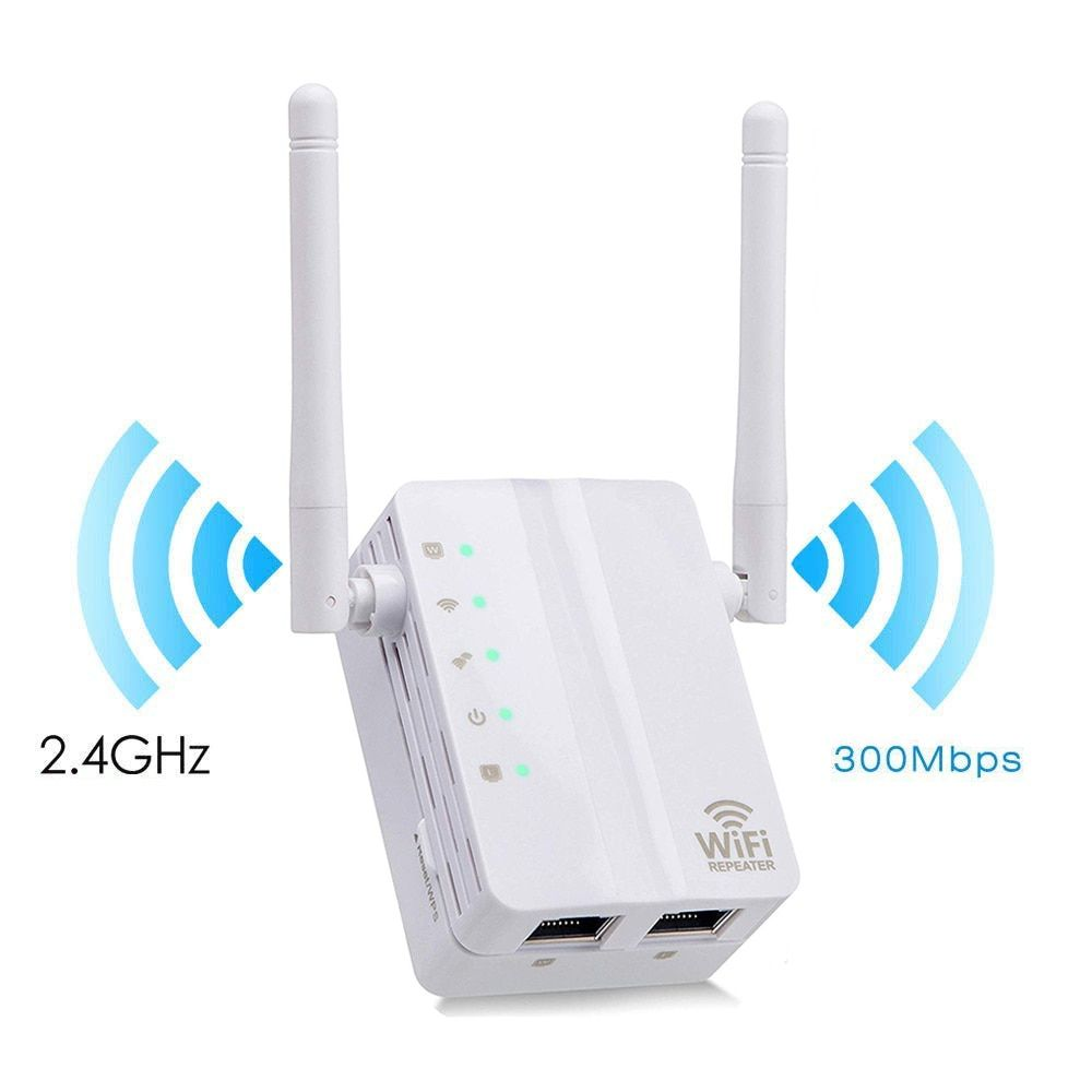 AC750 Dual-Band Wifi Extender Repeater Wireless Router Range Signal Booster EU