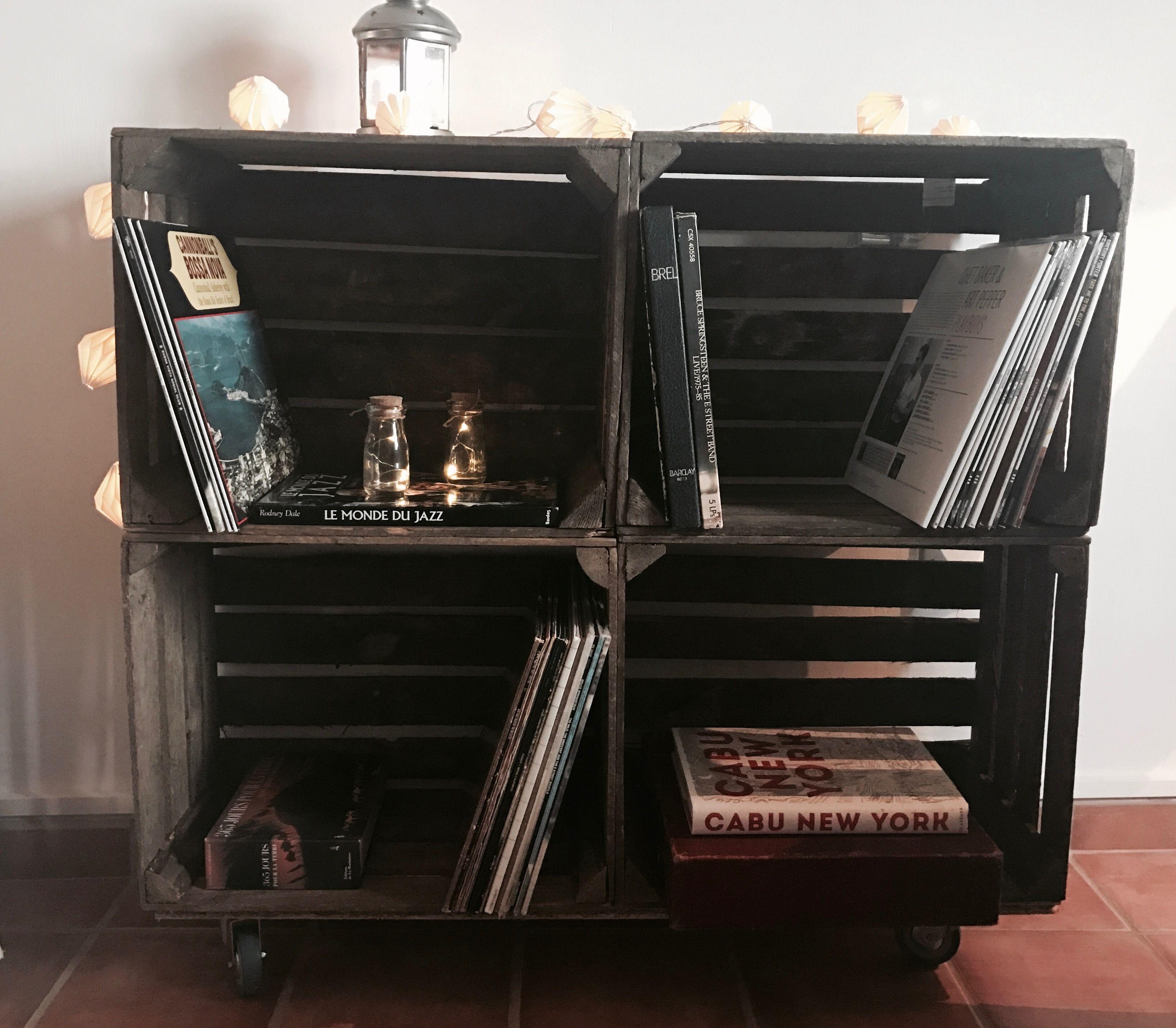 meuble pour disque vinyle fashion designs. Black Bedroom Furniture Sets. Home Design Ideas