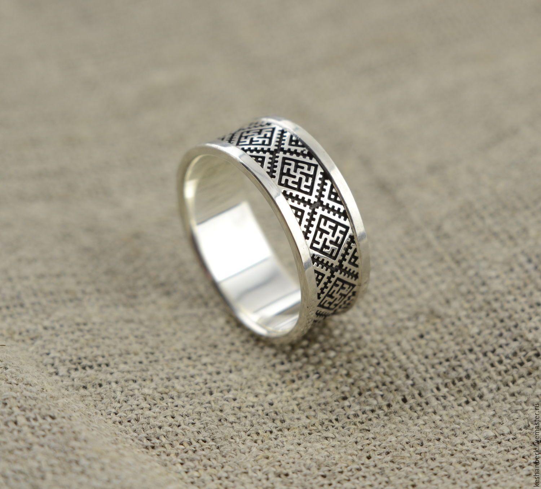 Купить Кольцо Перунов Цвет Цветок Папоротника - серебряный bf88aa93c37e6