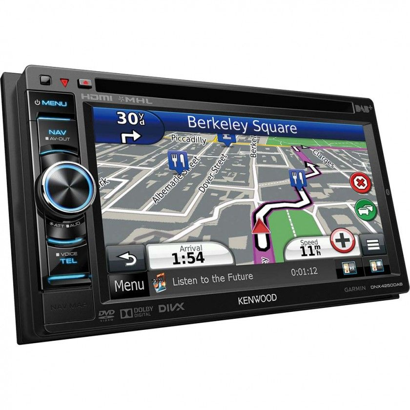 "Kenwood DNX-4250DAB 6.1"" WVGA, Navigation System with built-in DAB Tuner !!"