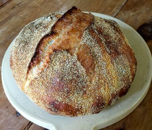 Jim Lahey's No-Knead Bread - Time Makes a Better Bread. And a Better Bread Maker http://www.tbtam.com/2015/08/time-makes-a-better-bread-and-a-better-bread-maker.html