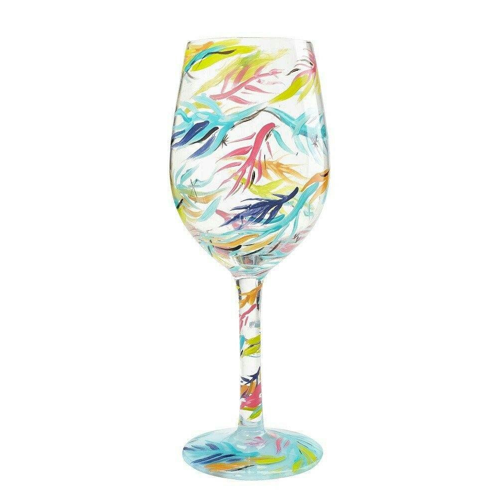 734049240ee6 Beachy Dreams Wine Glass by Lolita®