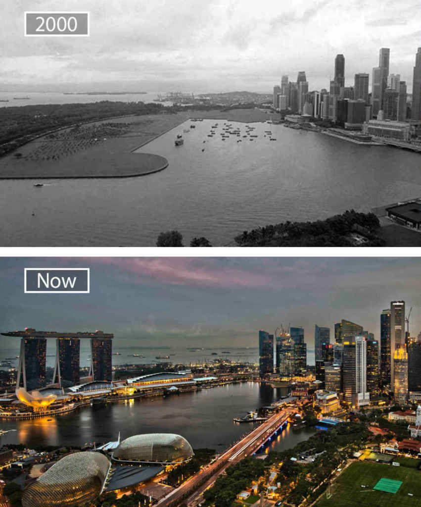 Singapore Singapore Before After Pinterest