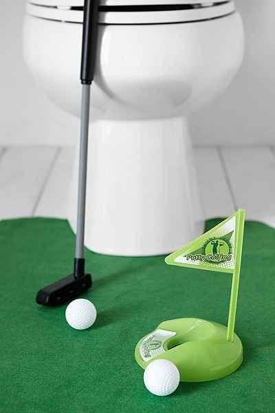 ClippingBook   Perfect Secret Santa Gifts Under $20, Toilet Golf, Bathroom  Golf, Gifts