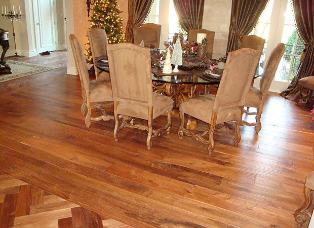 Transition From Herringbone To Straight Laid Flooring Can Be Awkward Hmmm How To Work Around This House Flooring Flooring Flooring Options