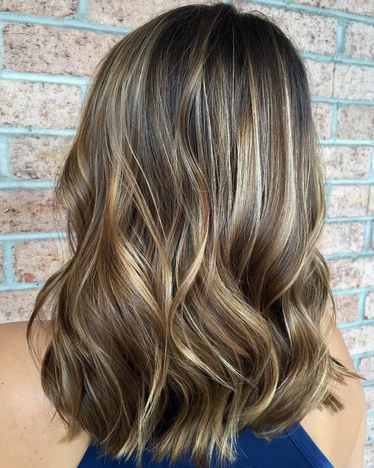 Image Result For Partial Highlight Brown Hair Hair Pinterest