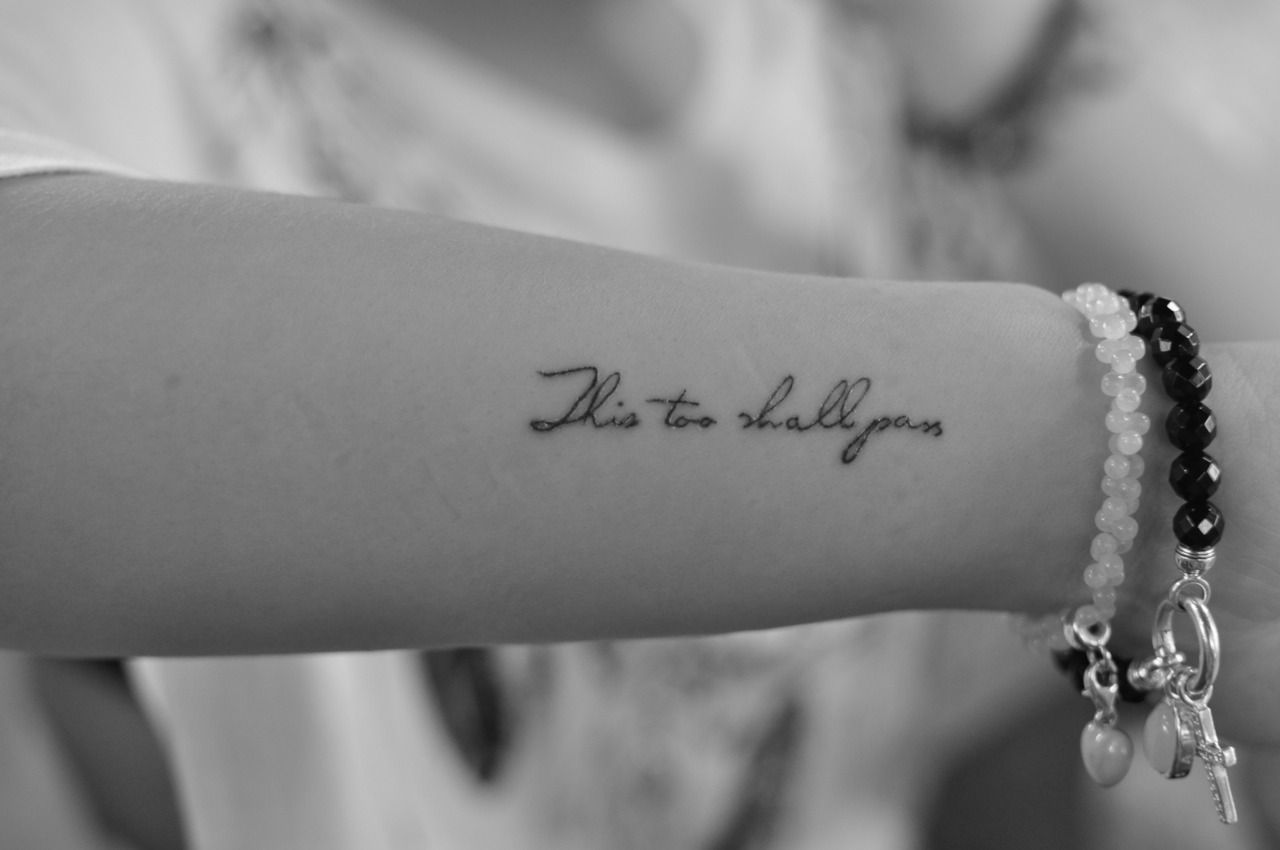 40 meaningful tattoo quotes to get inspired - Small Simple Tattoo