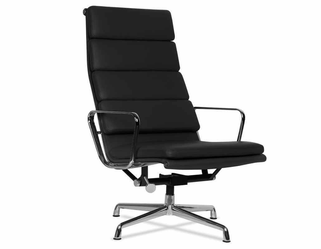 Eames Ea 222 Soft Pad Lounge Chair Eames Chair Lounge