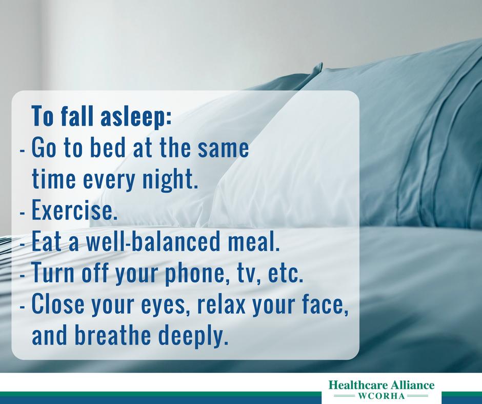 Home How to fall asleep, Falling asleep tips