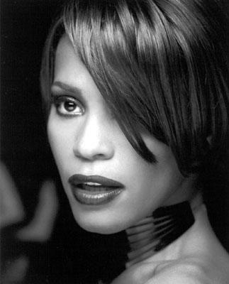 Short bob Whitney Houston looking beautiful