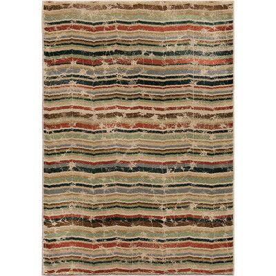 """The Conestoga Trading Co. Forever Wave Multi Area Rug Rug Size: 5'3"""" x 7'6"""""""
