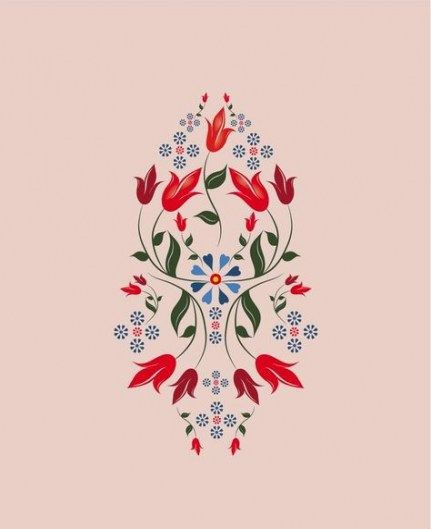 17 Trendy Swedish Folk Art Tattoo Design Polish Folk Art Folk Embroidery Scandinavian Folk Art