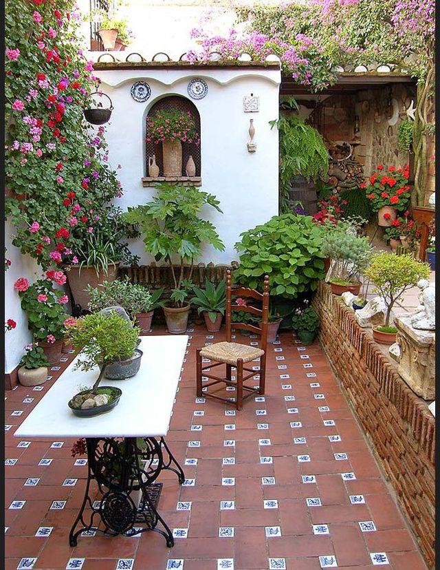 Les plus belles terrasses de pinterest romantique - Les plus belles terrasses ...