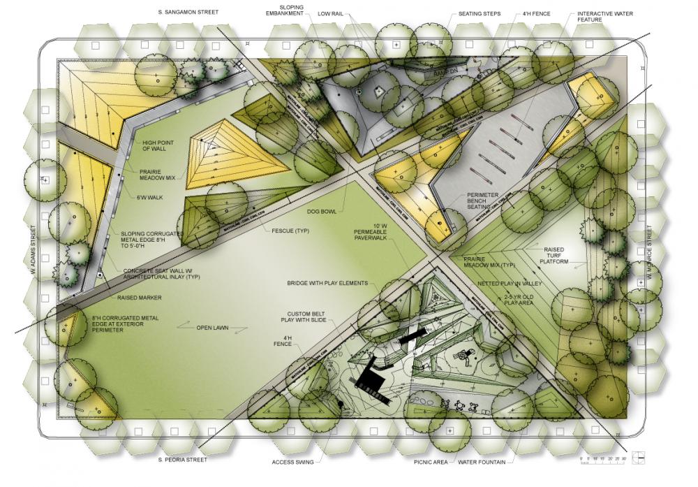 Mary Bartelme Park Landscape Performance Series Landscape Architecture Park Landscape Architecture Landscaping Around House