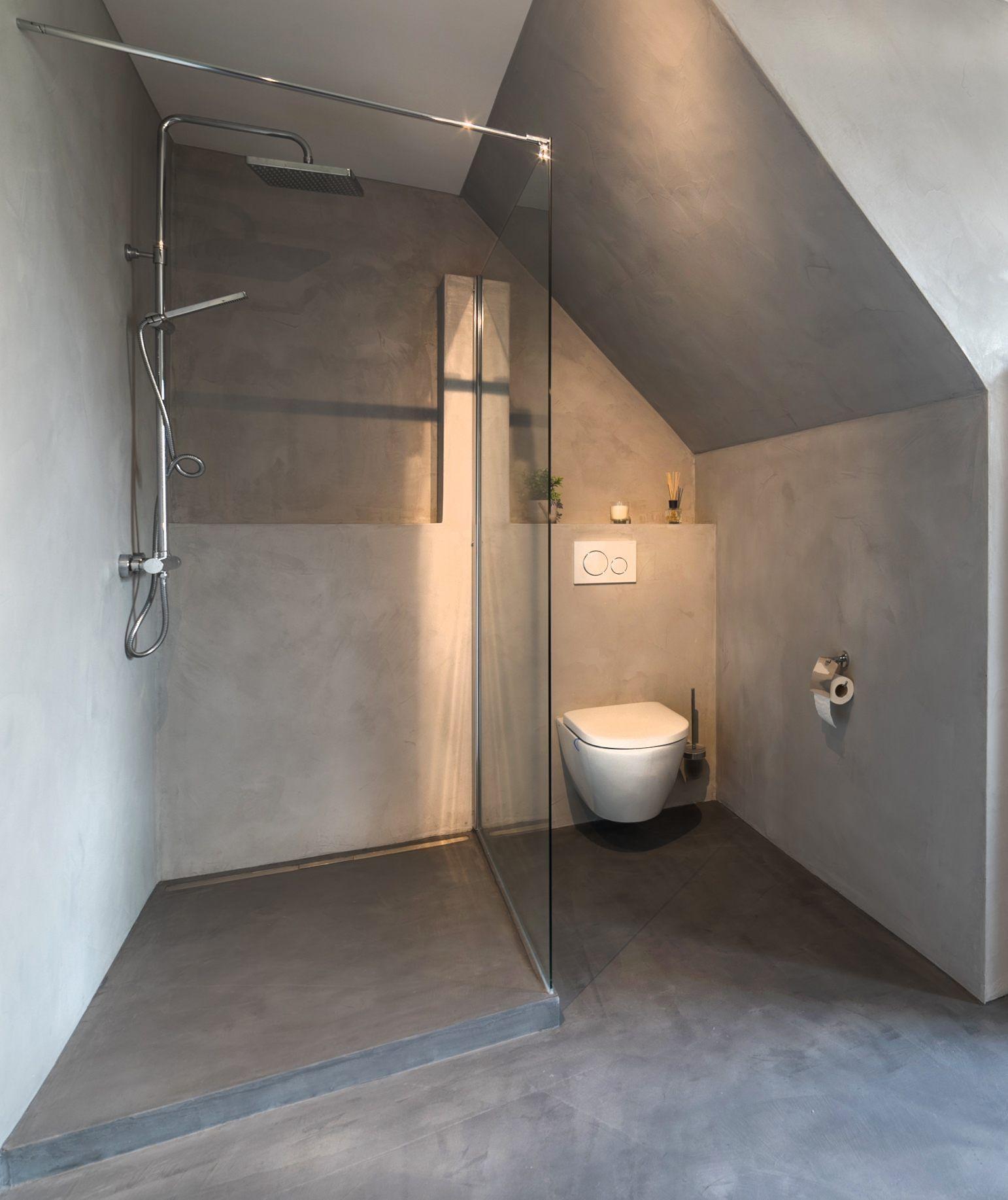 5 Beton Cire Bader Fugenloses Design Raumkonzept Trier Eintagamsee Badezimmer Renovieren Badezimmer Bad Renovieren