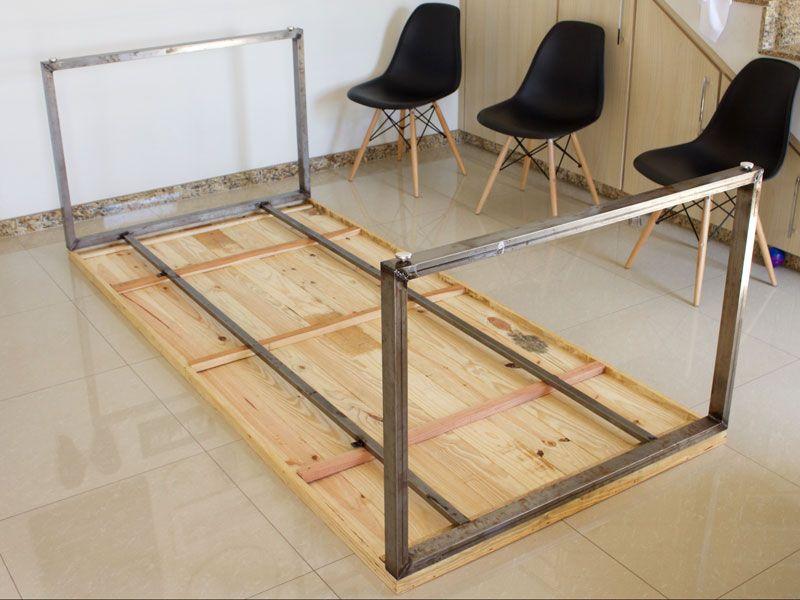 A Nova Mesa Com Pegada Industrial Do It Yourself Table